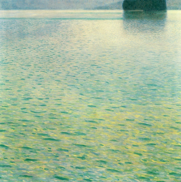 Island in the Attersee by Gustave Klimt, 1902