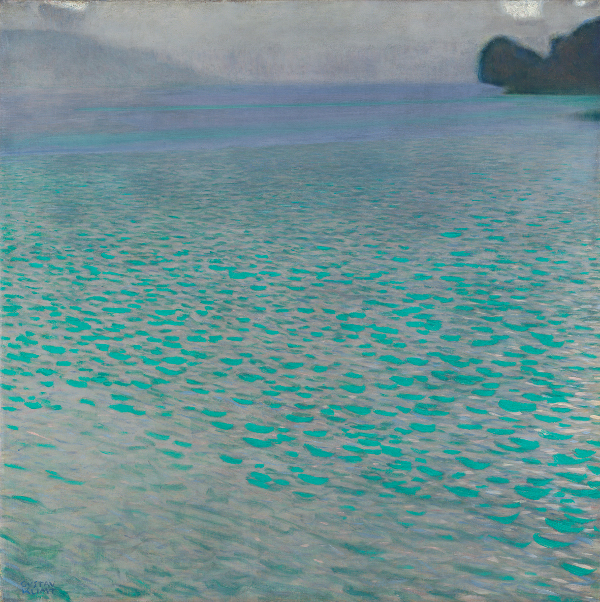 Attersee by Gustave Klimt, 1900
