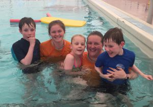 Connecting people with a disability to aquatics