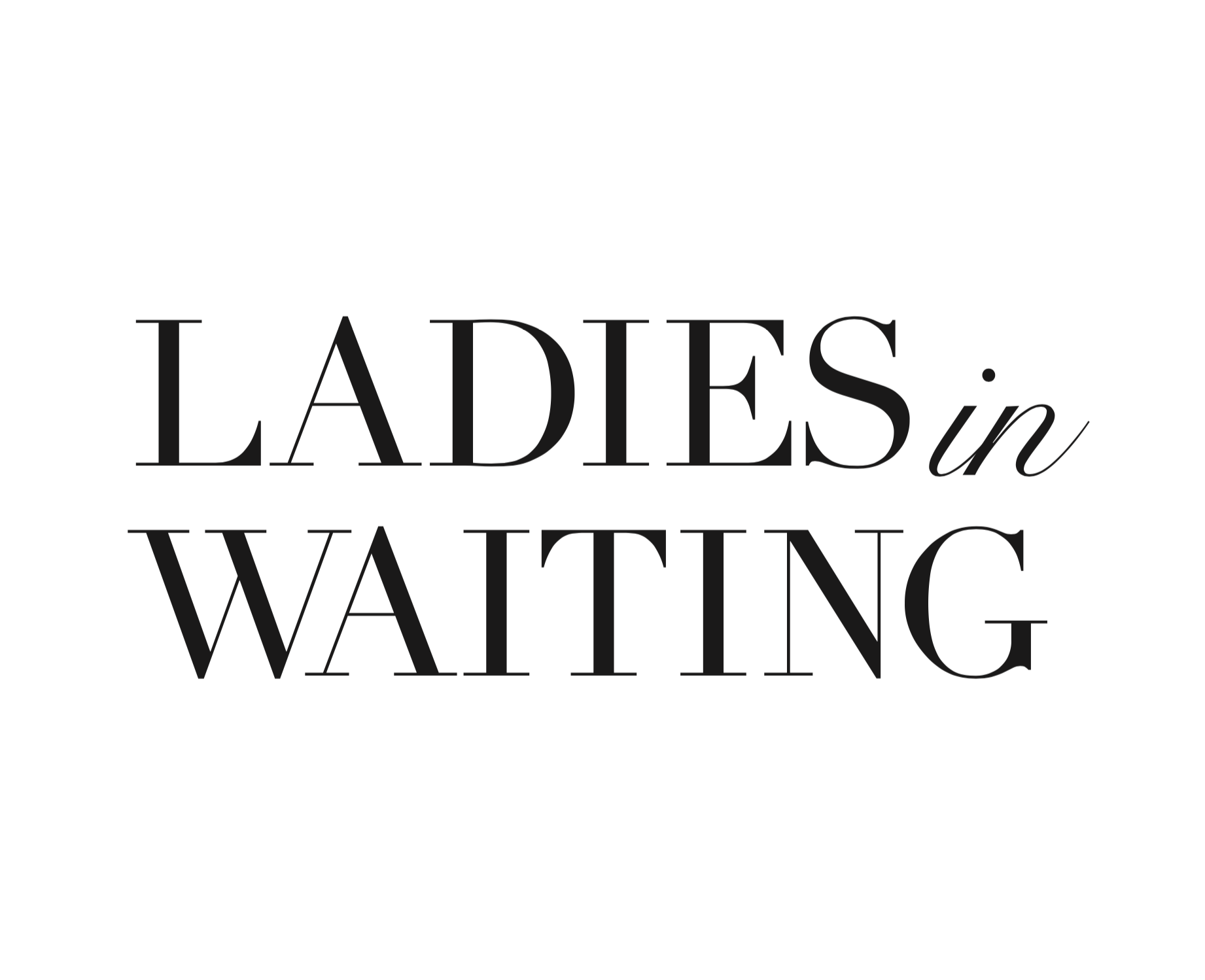 - Ladies in Waiting is a series inspired by the medieval trope of ladies-in-waiting, who are princesses waiting in their towers for their princes to rescue them, and the handmaidens who are secondary — in the background and never chosen.This idea of ladies who are waiting for something to happen to them, but are always passive and never active.This series of small gouache illustrations takes this trope and places modern women into this idea; that these women are waiting for something to happen to them; something to change; something to fight against — but always seen as a passive figure.