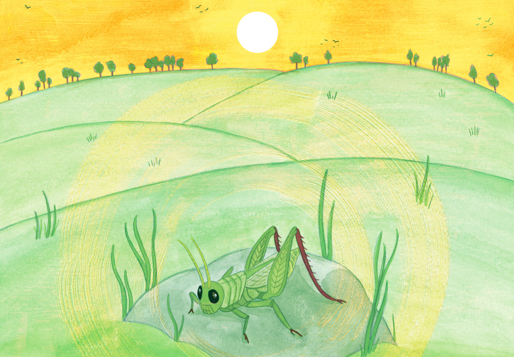ON THE GRASSHOPPER AND CRICKET pg 1