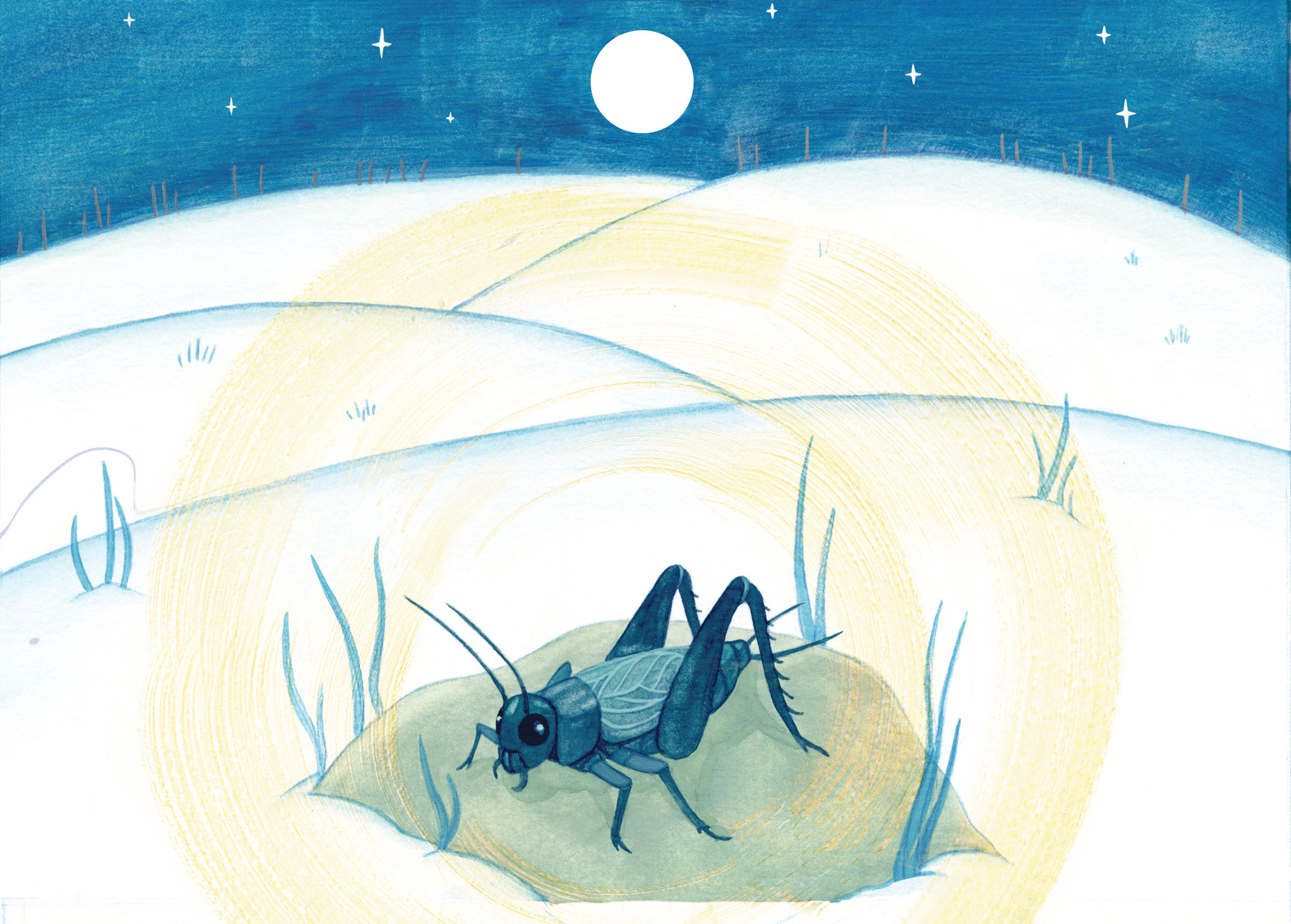 ON THE GRASSHOPPER AND CRICKET pg 2