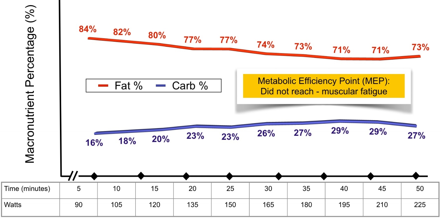 Dec 2012 Metabolic Efficiency Assessment: Bike