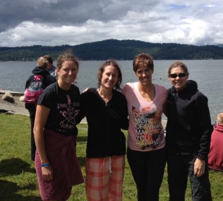 Mikki, Mo, Sonja, and me