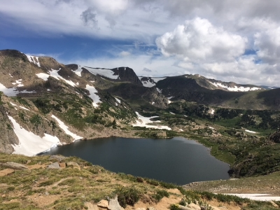 Backpacking in the Indian Peaks of Colorado
