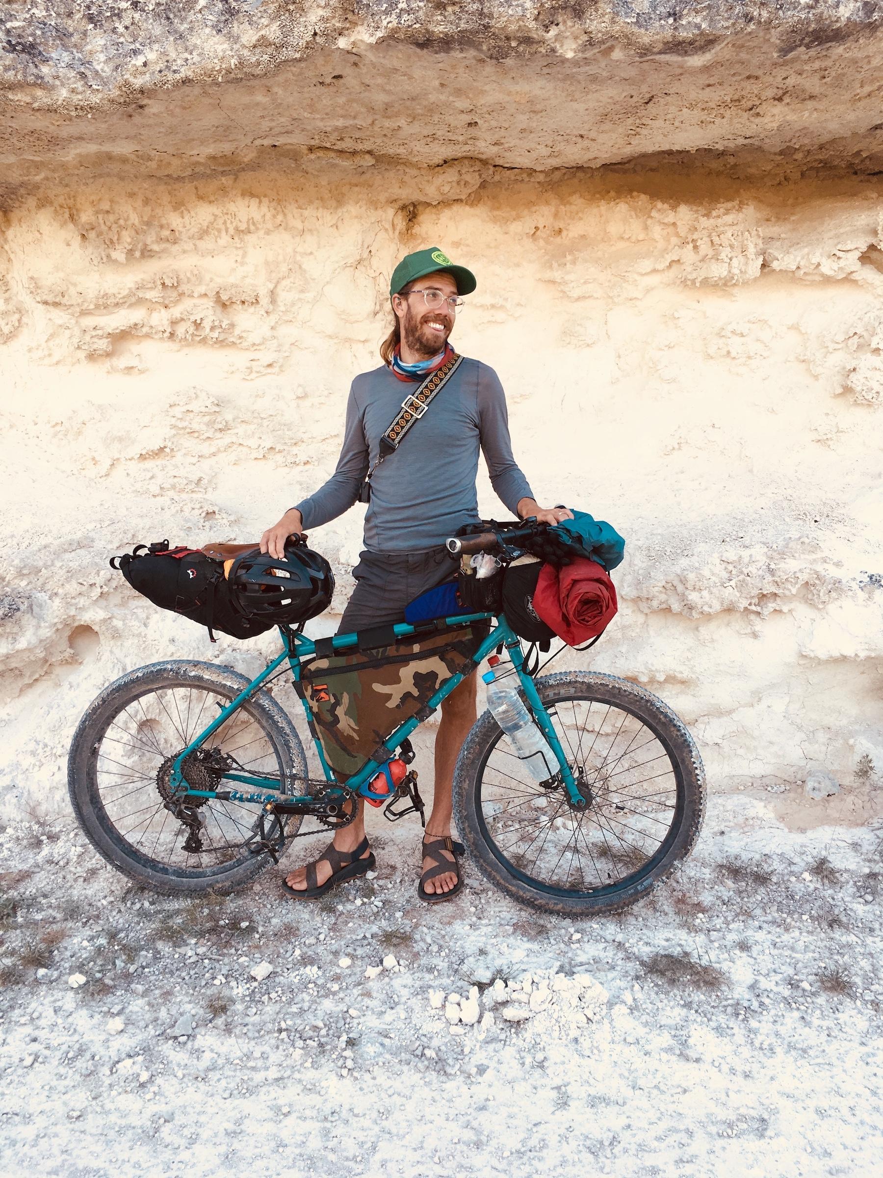Henley's no stranger to bike packing