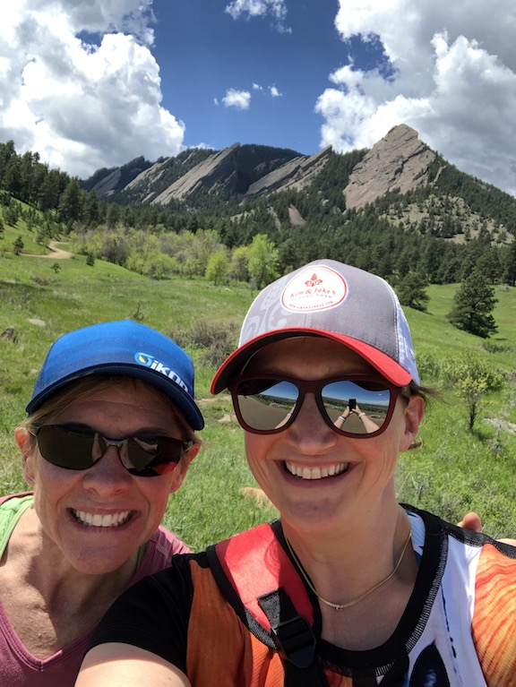I finally met Shoshana during her Colorado visit in May 2019.