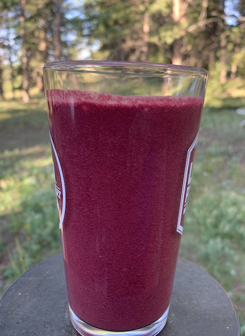 Hellooooo, gorgeous nutrient-packed smoothie that happens to contain a beet.