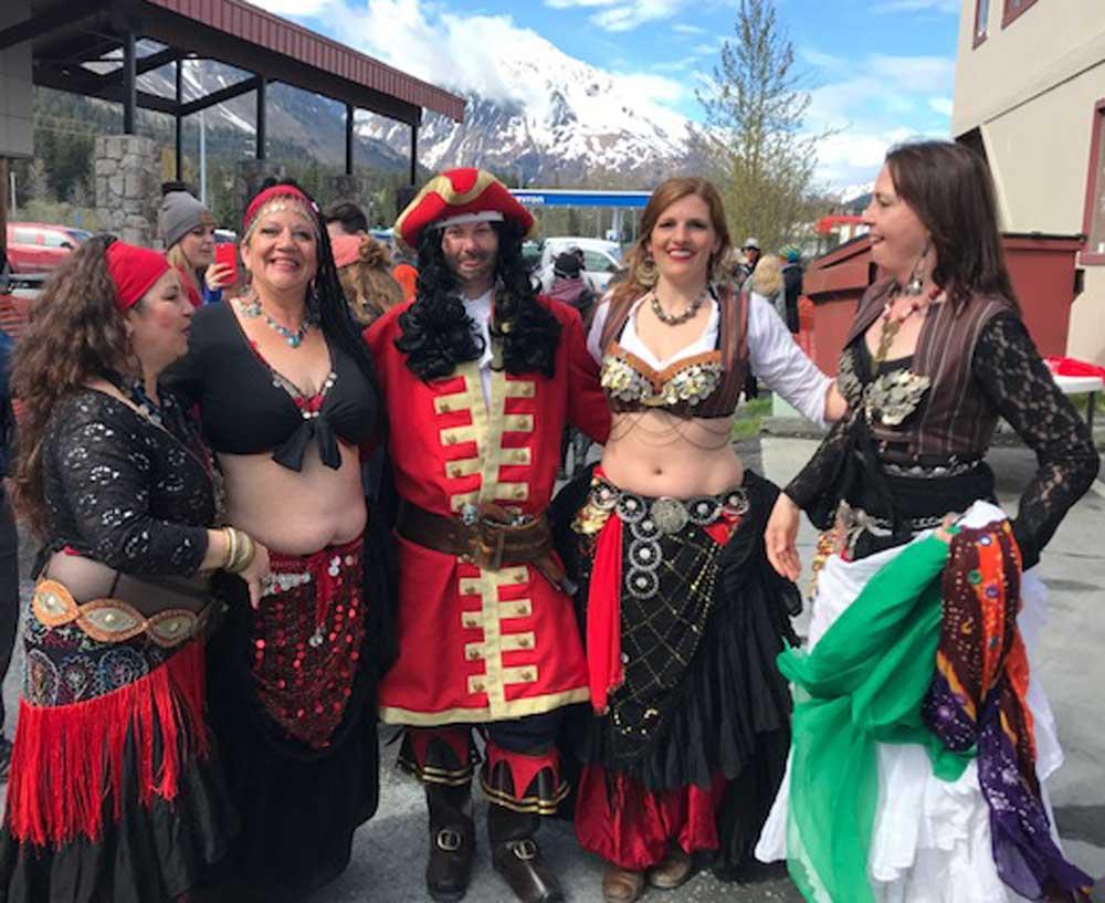 Seward Mermaid Festival Dancers