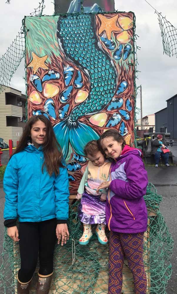 Seward Mermaid Festival Kids
