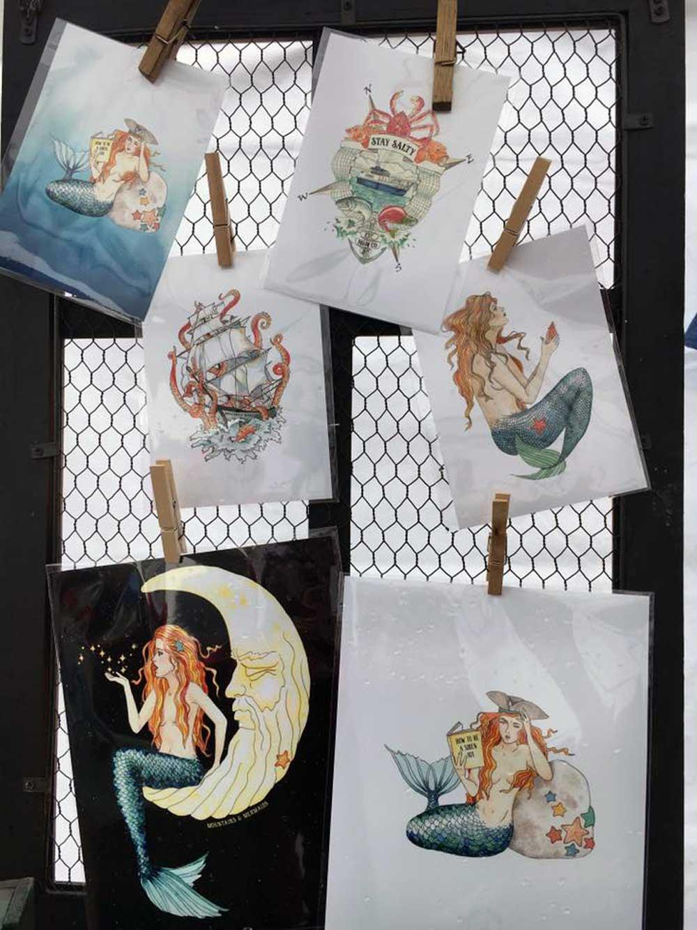 Seward Mermaid Festival Vendors