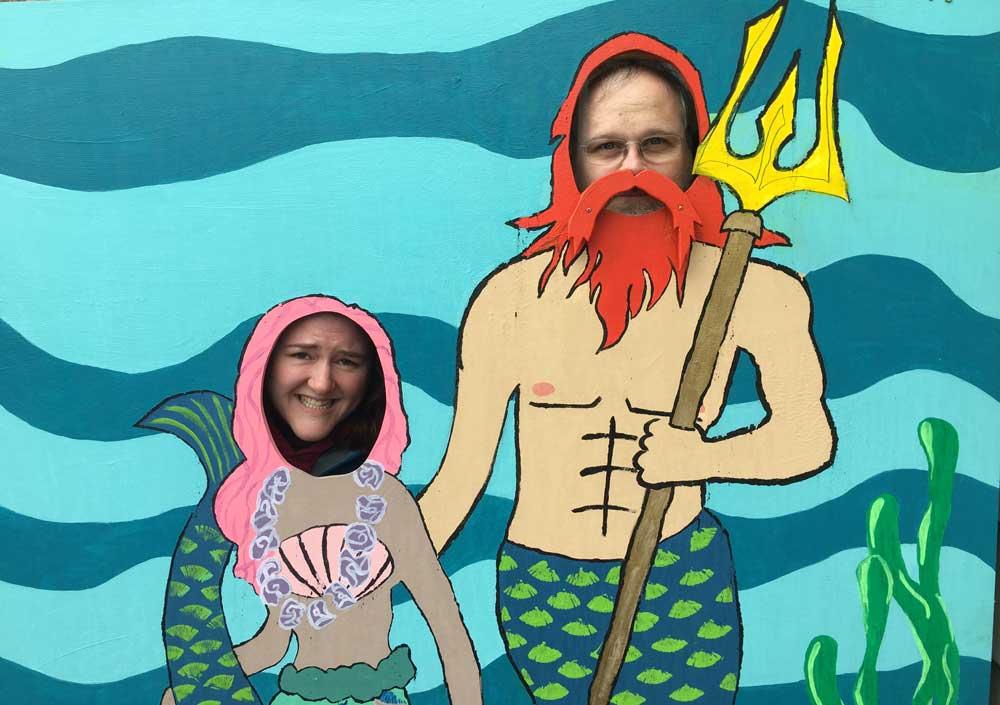 Seward Mermaid Festival Attendies