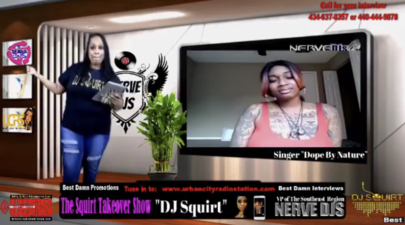 Virtual Studio Interview - The dopest ever! just $100:affordable for the independent artist.