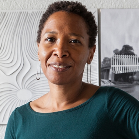 June Grant  Principal at  blink!LAB Architecture  - Oakland architect and community advocate, vice-president Bay Area National Organization of Minority Architects ( SF NOMA )