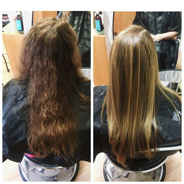 Before and after what a difference 😃 studio291 on Adams street come in relax and be in love with your hair again!.jpg
