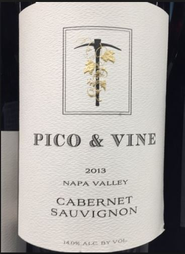 Episode 21: Pico & Vine Cabernet Sauvignon from Nap Valley