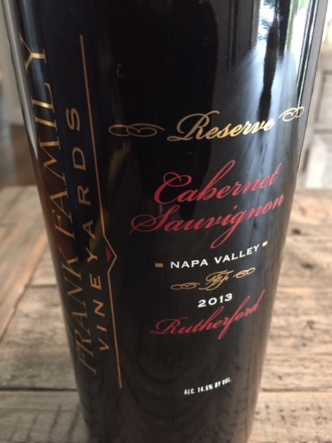 Episode 28: Frank Family Cabernet Sauvignon - Napa Valley