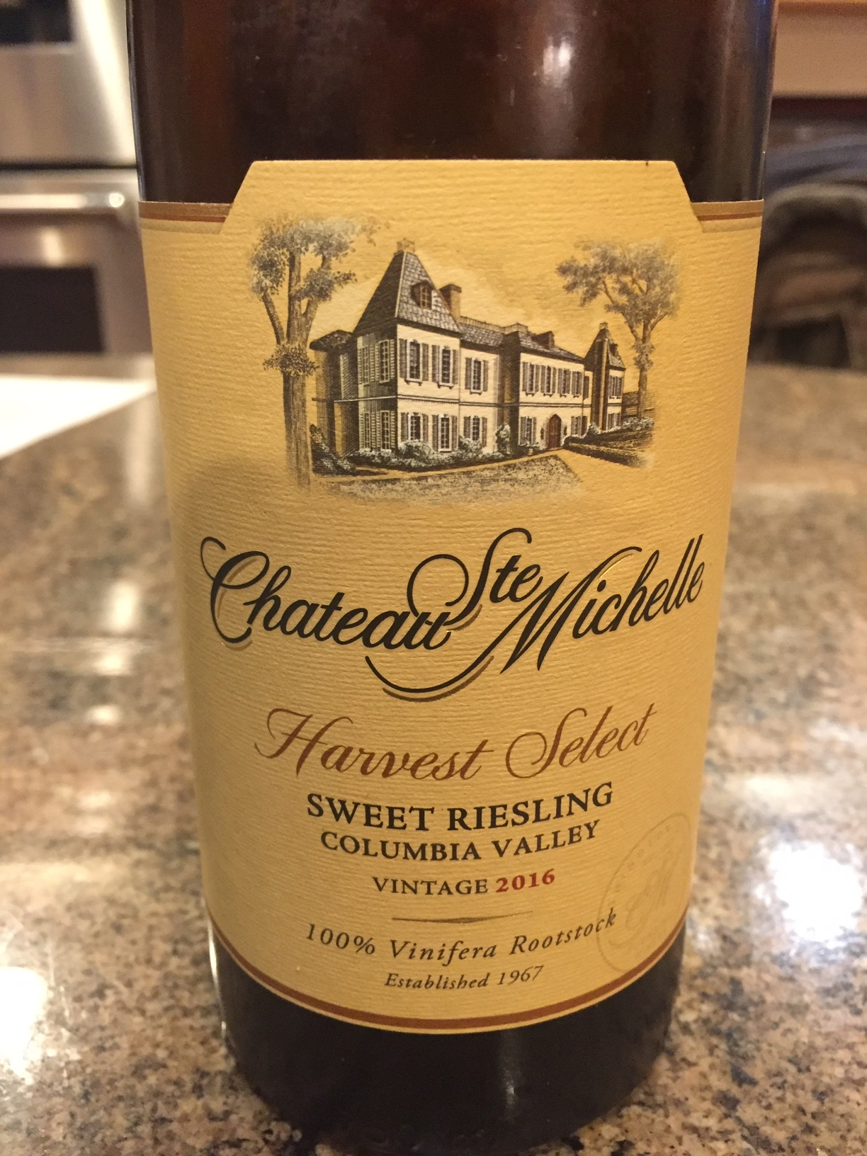 Episode 36: WHITE - Chateau St. Michelle Harvest Select Sweet Riesling, Columbia Valley, Washington State