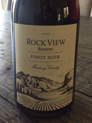 Episode 38: Rock View Reserve Pinot Noir from Monterey County, in California