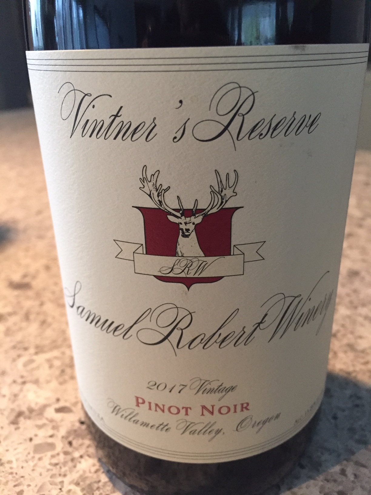 Episode 42: Vintner's Reserve Pinot Noir from Samuel Robert Winery in Oregon