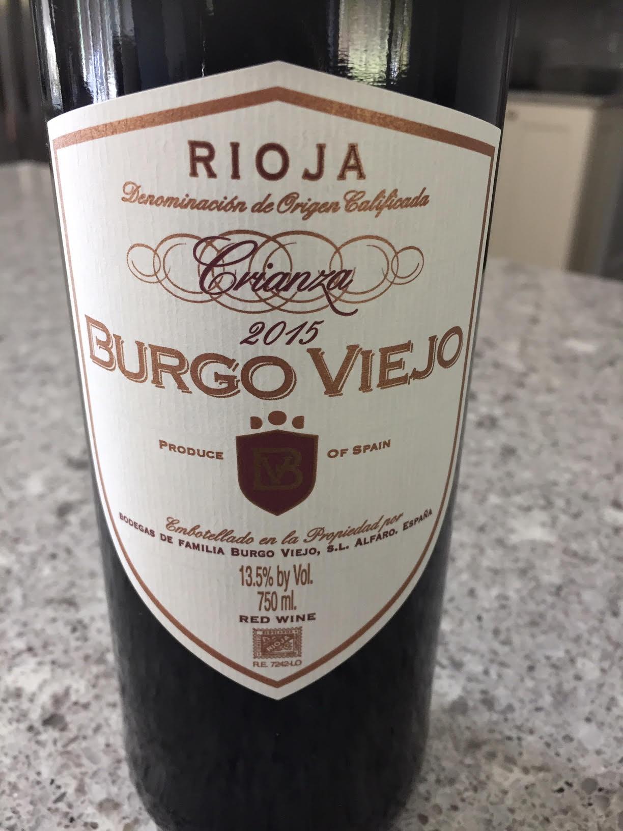 Episode 43: Rioja, Crianza Burgo Viejo