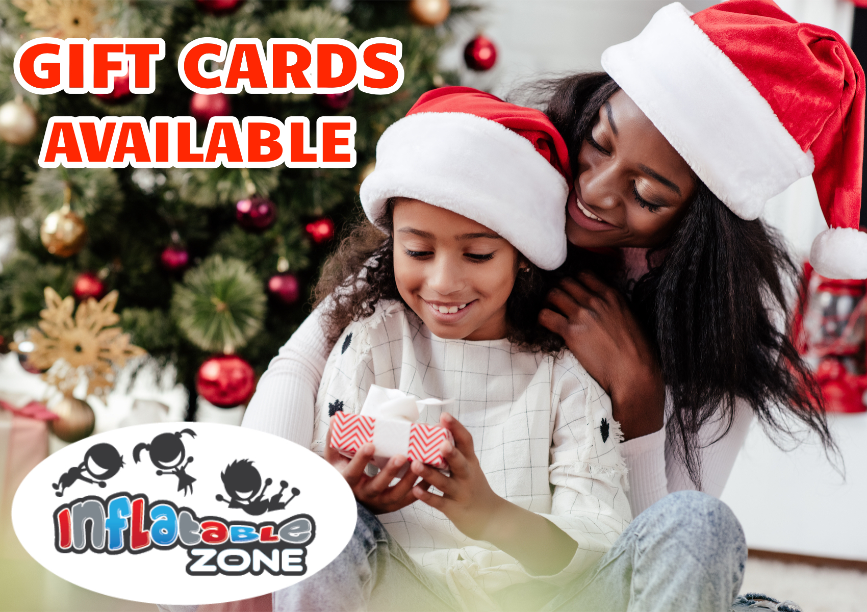 Looking for an unique gift? - Our Gift Cards are valid for use in both Inflatable Zone and Boing Zone Birmingham.