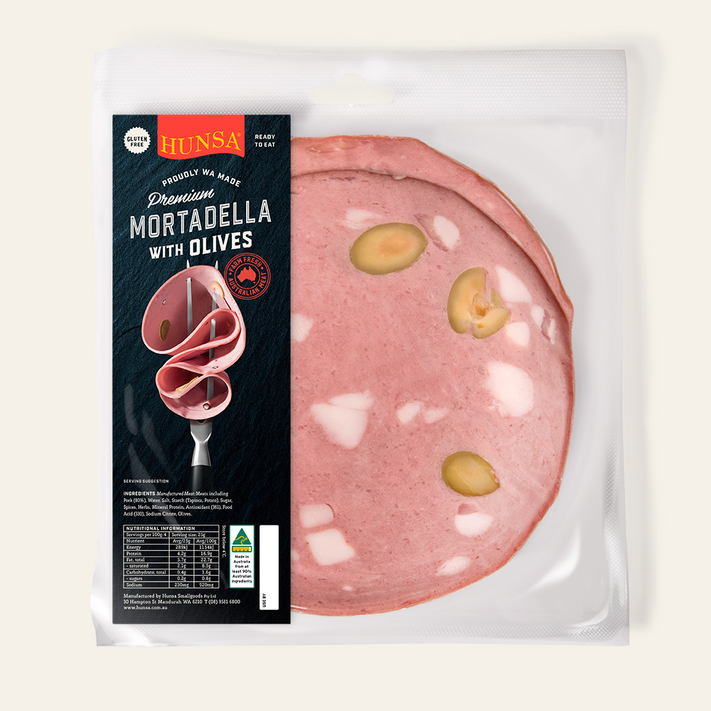 Mortadella with Olives