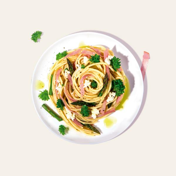 Leg Ham Spaghetti Carbonara