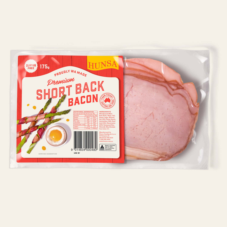 Short Back Bacon 175g