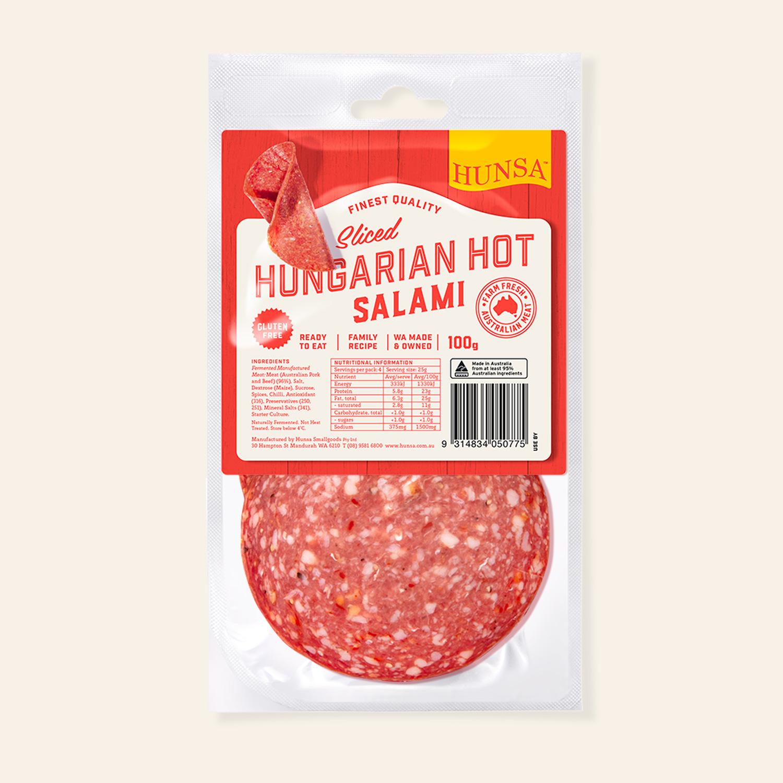 Hungarian Hot Salami 100g