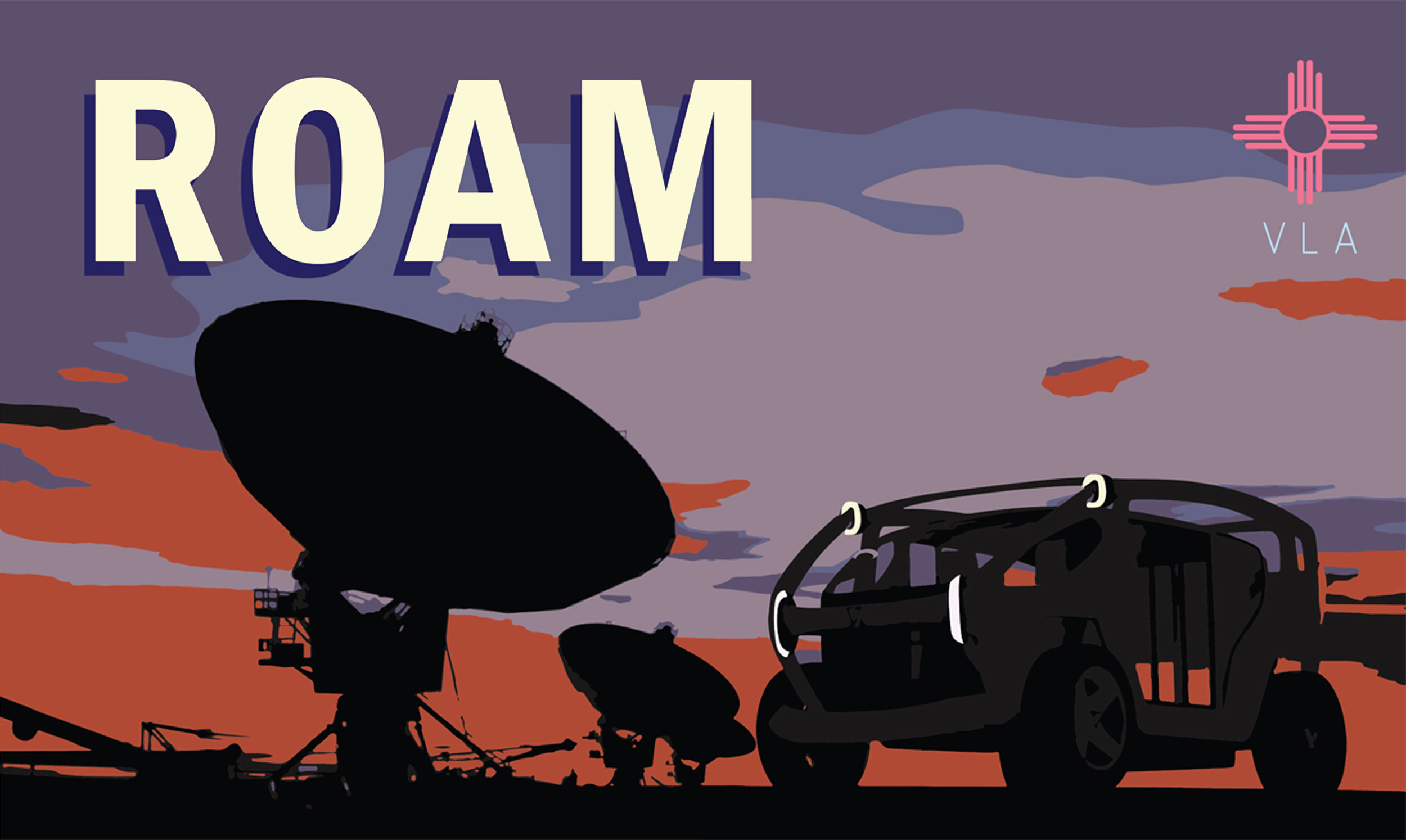 ROAM freely. Part of my ROAMR project.