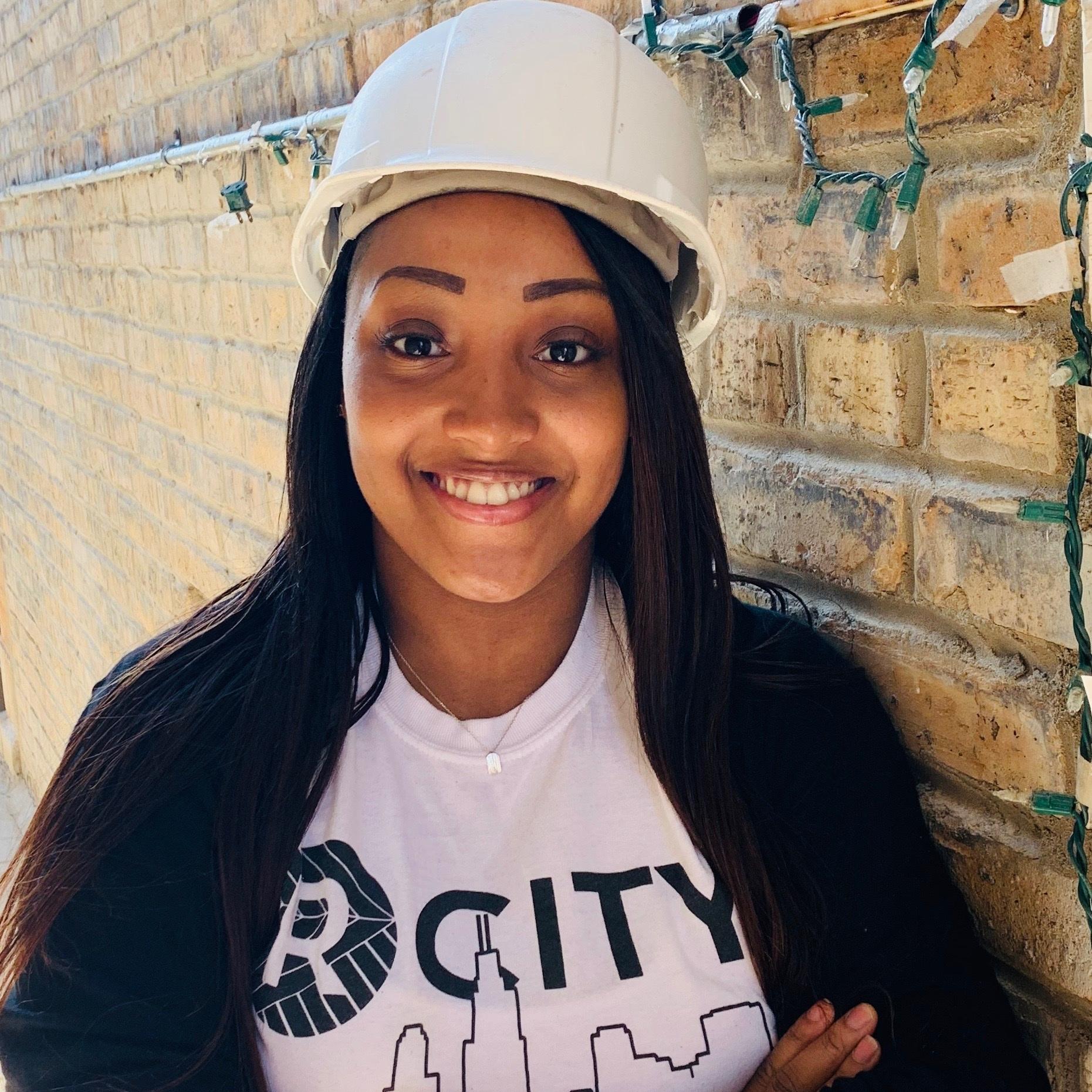 Charnesha Collier - Tuckpointing Crew Leader, Harambee Citybuilders