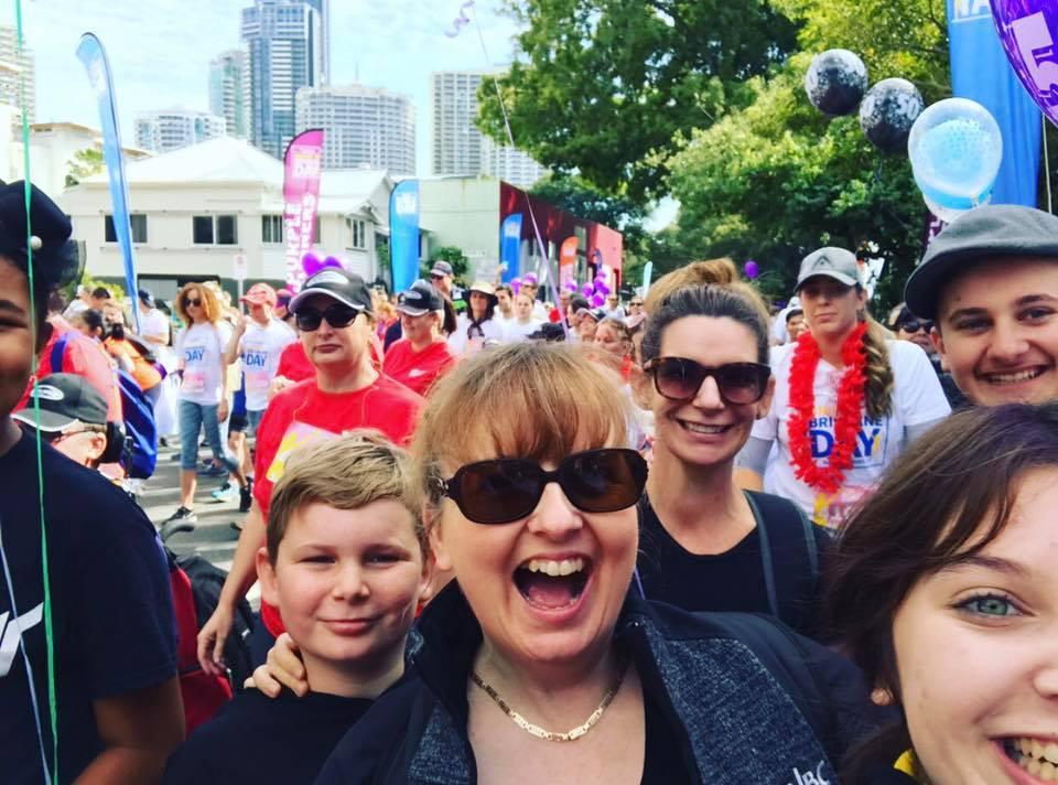 Melinda's 50th Birthday Bridge to Brisbane Walk AUSTRALIA