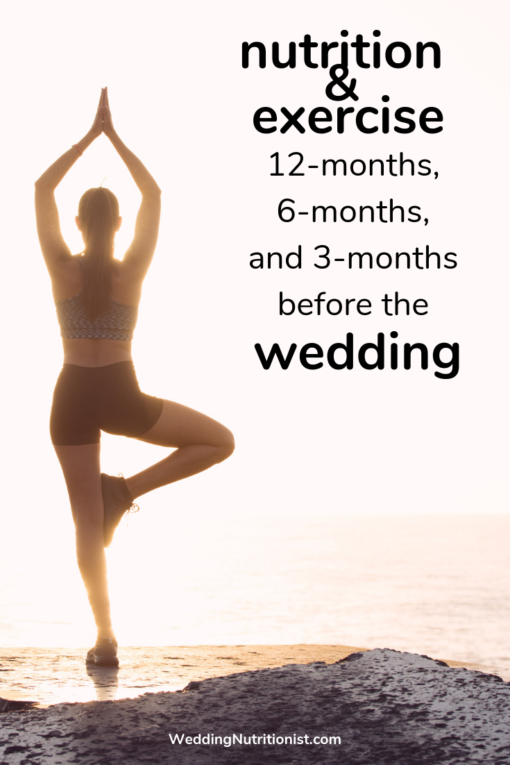 The Ultimate Wedding Nutrition & Exercise Countdown