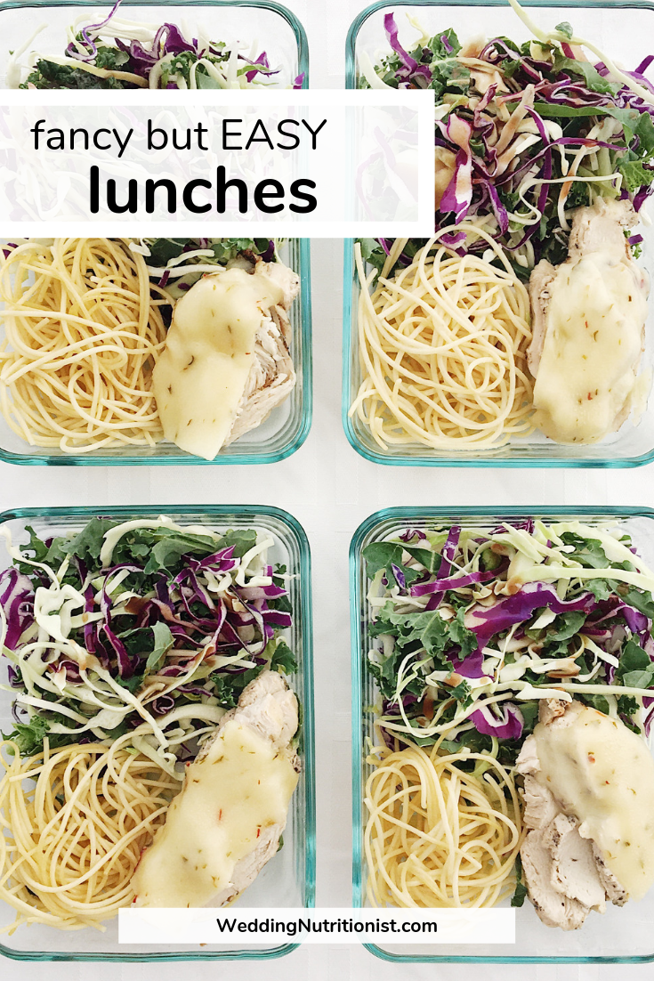 fancy easy lunches