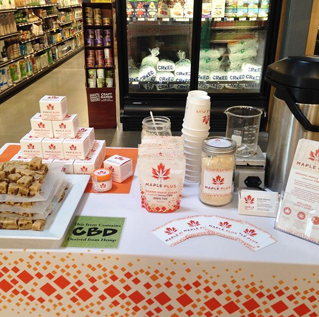 We're at the south end City Market @citymarketcoop today with delicious samples and demos of our Maple Plus. Come try some!  #vermont #burlingtonvermont #fullspectrumcbd #madeinvermont #madeinvt #fullspectrumextract #fullspectrumcbd #fullspectrumoil #cbdoil #alternativehealth #holistichealth #holistichealing #hempextract #hempoil #cannabis #cannabisheals #maple #maplesyrup