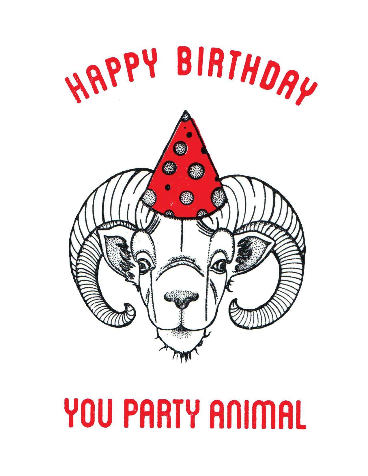 Party Animal - Print