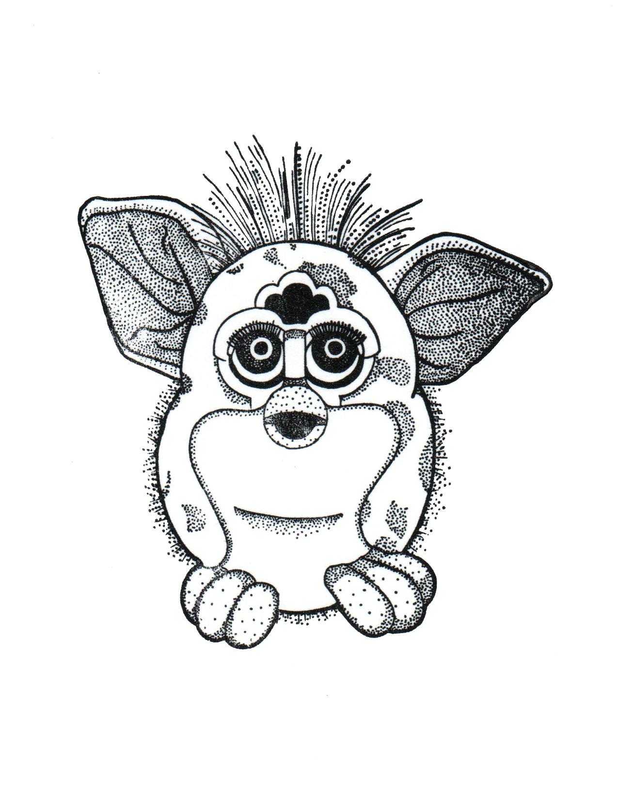 Furby Print