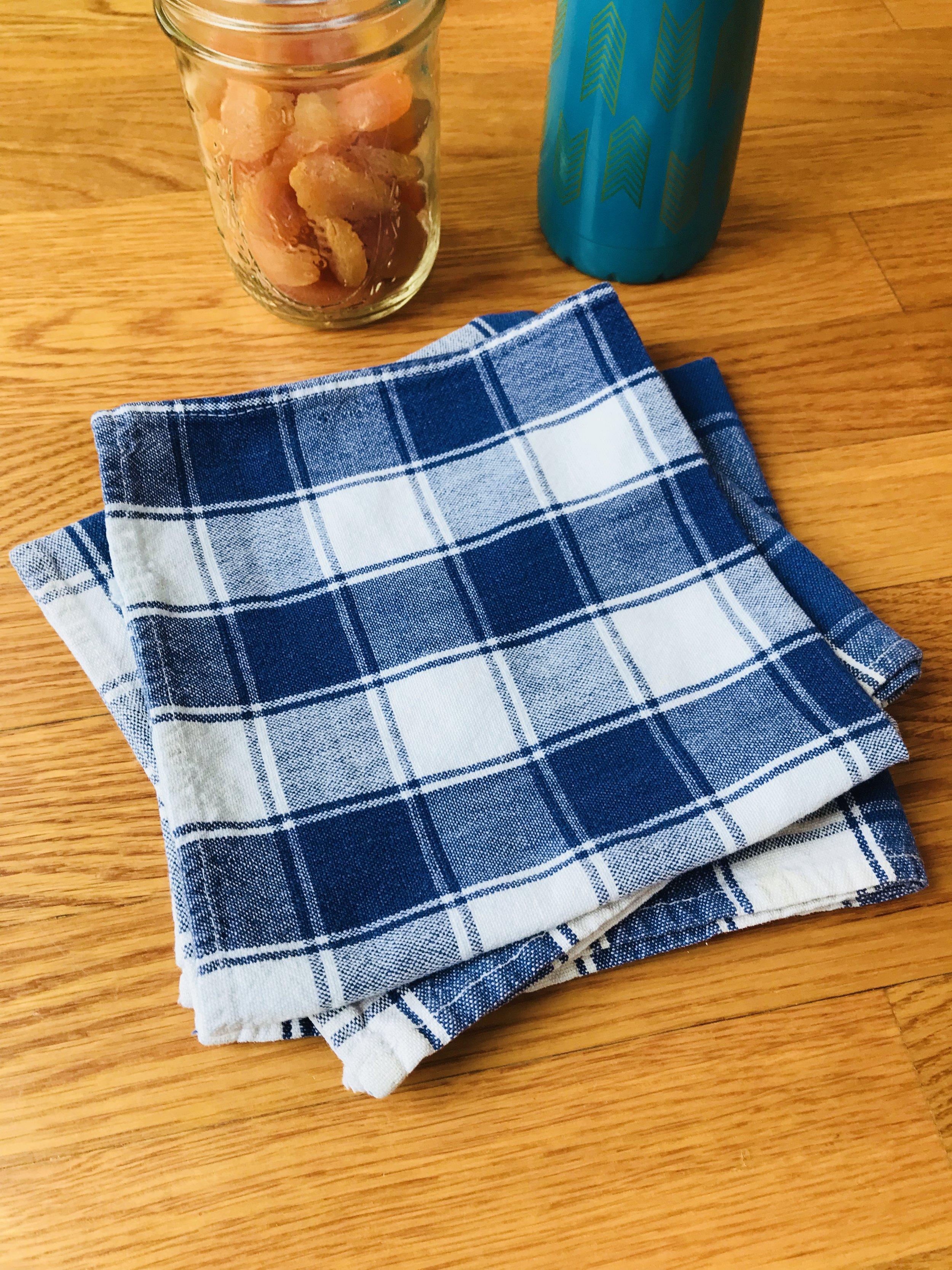 - Cloth Napkins! Easy Peasy switch.