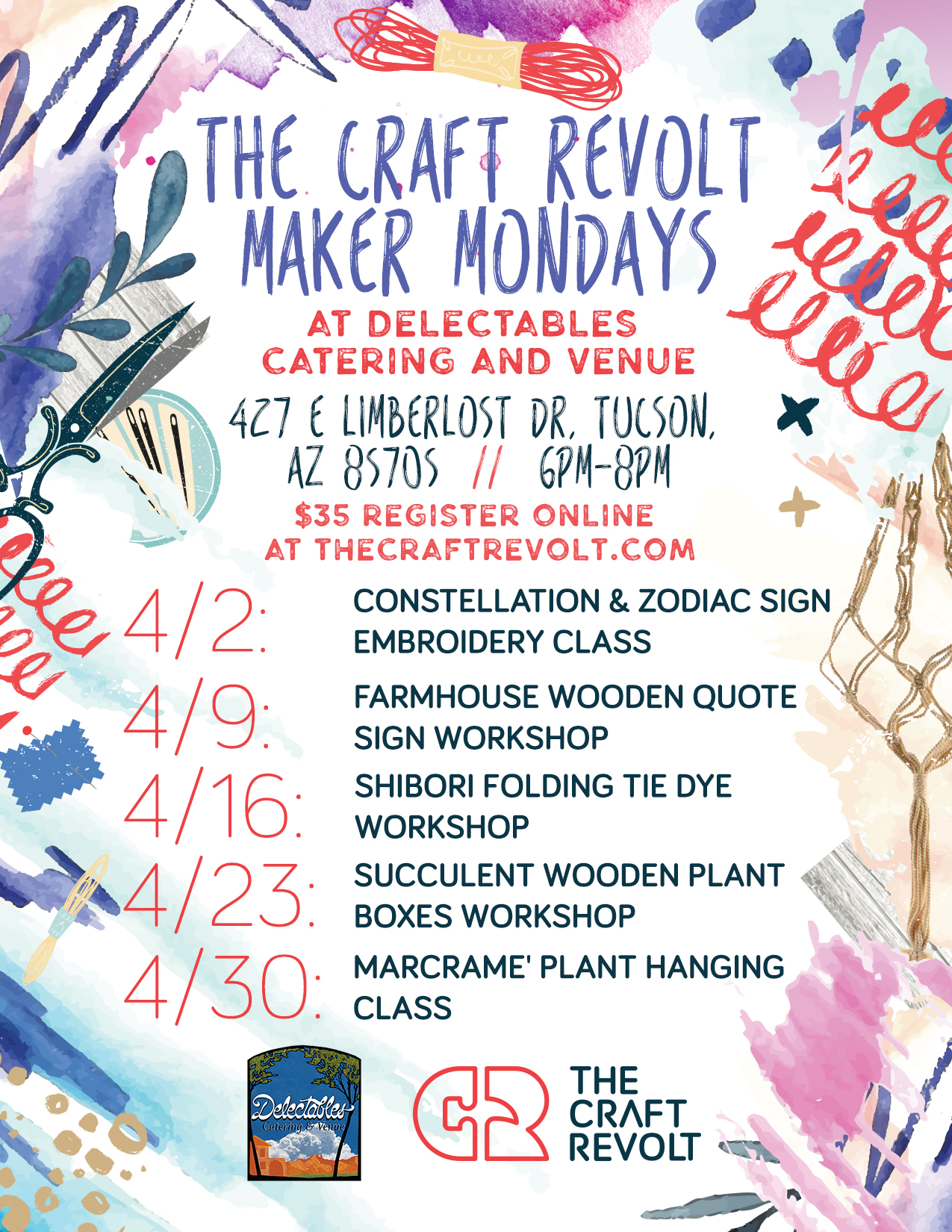 The craft revolt maker Mondays - Delectables