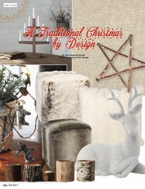 A traditional Christmas by Design | Society Magazine