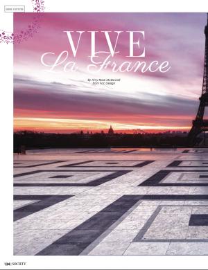 Vive La France | Society Magazine