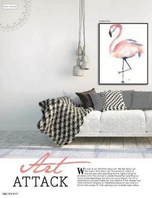 Art attack | Society Magazine