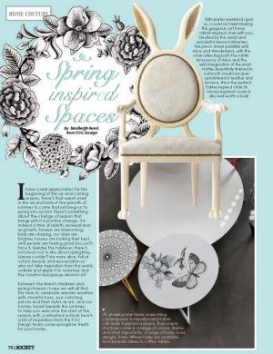 Spring Inspired Spaces | Society Magazine