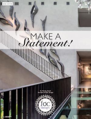 Make a Statement | Society Magazine