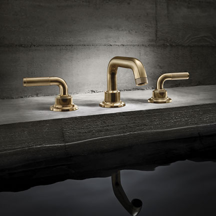 The New Industrial Chic Widespread Descano Series By California Faucets