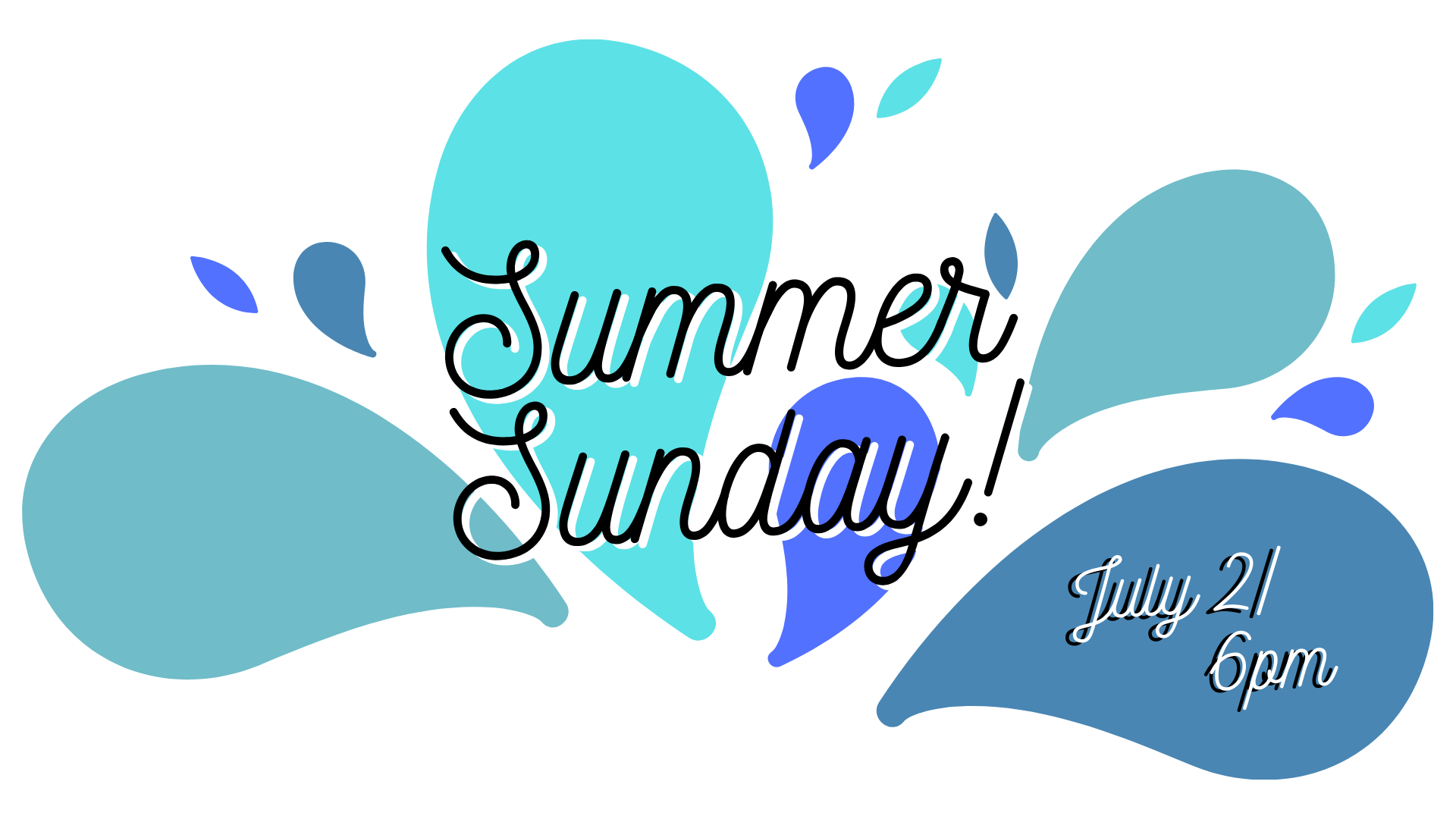 summer sunday - july 21 - Don't miss the July edition of Summer Sunday! BBQ, free snow cones, water games & inflatables! Bring your lawn chairs and pop up shade tents to this fun event!