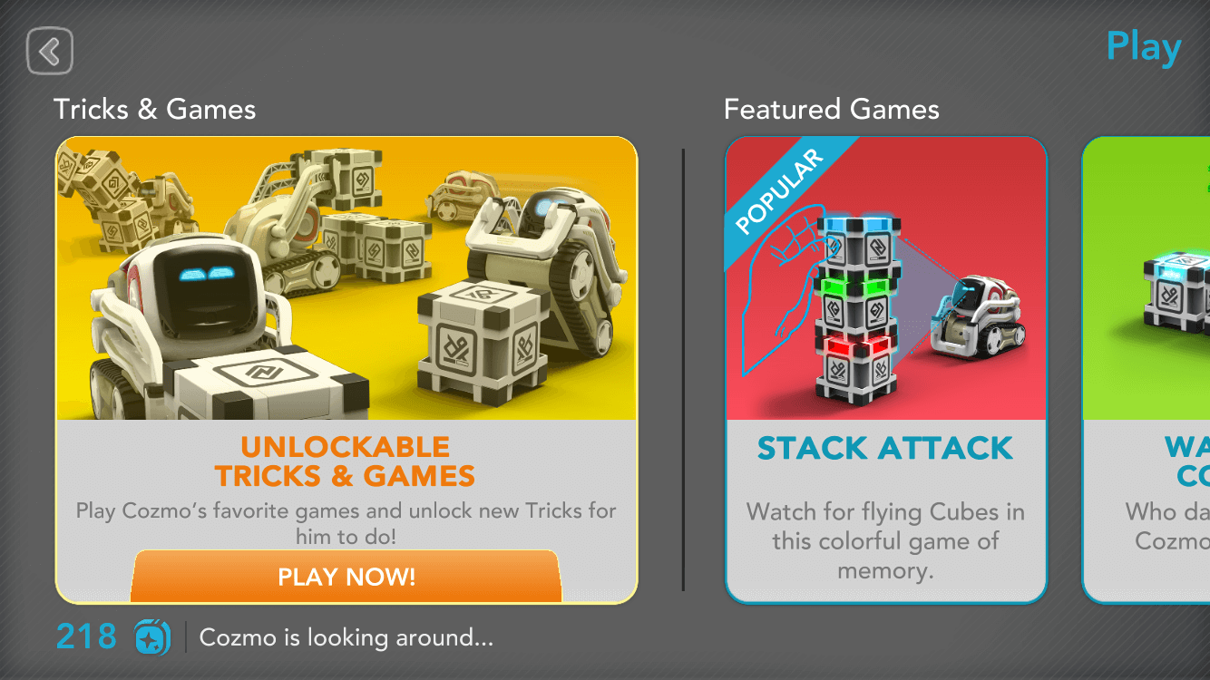 Games & Tricks: Before