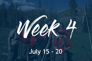 East Fork Scout Camp at Hinckley Scout Ranch | Week 4