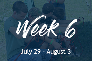 East Fork Scout Camp at Hinckley Scout Ranch | Week 6
